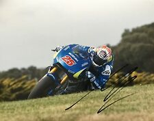 Maverick Vinales signed Moto GP 10x8 photo Image C UACC Registered Dealer