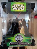 Obi-wan Kenobi et Darth Vader Silver Anniversary 1977-2002 boite neuve