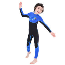 2.5mm Neoprene Full-body Wetsuit Youth Long Sleeved Keep Warm Swimming Surf Suit