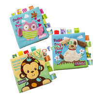 Intelligence Development Animal Cloth Book Kid Educational Toy Bed Cognize Books
