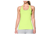Under Armour HG Racer Tank Halogen Green, Size S