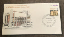 1980 Opening Of High Court Building Canberra Australian APO FDC