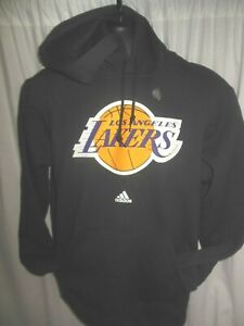 Los Angeles Lakers NBA Men's Adidas Hooded Pullover Sweatshirt