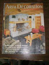 Art et Décoration N° 141 1969 Ferme de la Dime Meubles du terroir bourguignon