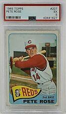 1965 Topps #207 Pete Rose PSA 5