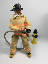 1/6 HASBRO FIREMAN /  FIREFIGHTER WITH HYDRANT&FIRE HOSE 911 DRAGON BBI DID NYFD