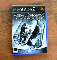 Medal of Honor European Assault NEW - NOT Sealed - PS2 PAL UK
