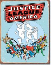 Justice League of America Retro Metal/Tin Sign (1641)