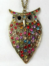 Radiant Crystal Alloy Costume Necklaces & Pendants