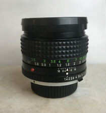 MINOLTA MC Rokkor -x PG 50mm f/1.4 MD