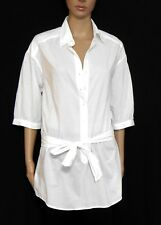 COUNTRY ROAD, white tunic with tie belt, sz. 10-12/S  #WSH585S