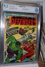 DEFENDERS #13 - Near Mint- CBCS 9.2 - Squadron Sinister - White Pages