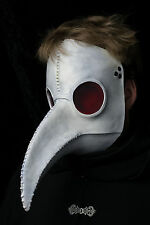 Traditional White Plague Doctor mask