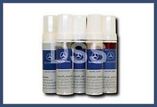 New Genuine Mercedes Benz 2 Part Touch up Paint 755 Silver Grey Tenorite