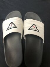 Guess Slide Sandals Slippers  with Guess Logo White  Men's Size 12