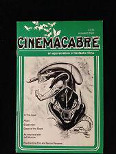 Alien-Cinemacabre Magazine-Ridley Scott-Sigourney Weaver-H.R. Geiger