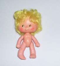 VINTAGE 3 AND 1/2 INCH NUDE STRAWBERRY SHORTCAKE DOLL Lem OR Ada 1979 HONG KONG