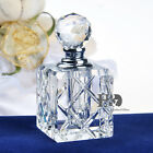 Clear Elegant Vintage Empty Refillable Crystal Glass Perfume Bottle Stopper 5ml