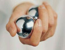 Set of Chinese BaoDing Cloisonne IRON Balls W/ Musical Chimes, iron balls
