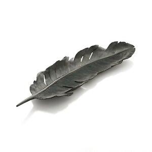 Michael Aram Feather Tray Black New, 133250