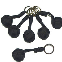 Key Chain Outdoor Security tool Steel Ball For Bearing Self Defense Lany*de