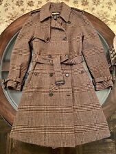 Ralph Lauren Rugby Size Small Princess Double Breasted Belted Coat Wool & Alpaca
