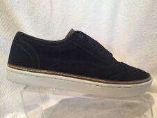 Ted Baker London Hapra 3 Navy Blue Suede Leather Wingtip Sneaker Mens 10 US 11
