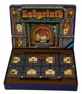 Labyrinth The Moving Maze Family Board Game Ravensburger Complete 1992 Rules