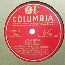 CHU BERRY & STOMPY STEVEDORES Maelstrom/Chuberry Jam COLUMBIA 37571 E+ HEAR