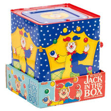 Schylling-Silly-Circus-Jack-In-The-Box-Musical-Children-Toy-Clown DISPLAY ONLY