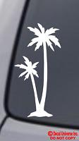 PALM TREE Vinyl Decal Sticker Car Window Bumper Tropical Beach Ocean Island life