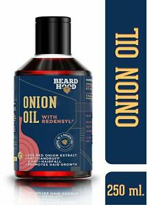 Beardhood Onion Oil with Redensyl for Hair Growth - 20% Red Onion 250ml