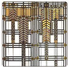 Frank Lloyd Wright Dana Thomas House II Absorbent Stoneware Coasters Set/4