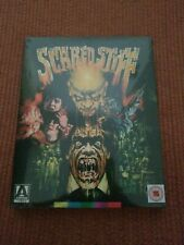 Scared Stiff (1987) New Sealed Blu Ray w/ Limited OOP Slipcover Arrow Horror
