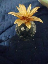 """Swarovski Crystal Pineapple 4"""" Paperweight/ No Box for this item"""