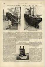 1887 Collision Between The Celtic And Britannic Appearance After Accident
