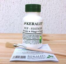 Keralit Huffestiger 250 ml + Pinsel + Anleitung | Huf Festiger für Pferde