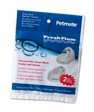 Freshflow Pet Fountain Replacement Water Filters 2 Pack (50oz)