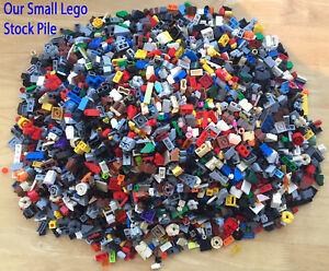 LEGO - 500g (1/2 Kg) SMALL Bricks Plates Cones Parts - 800+ SMALL Pieces Bundle
