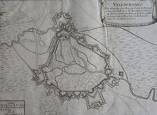 VALENCIENNES, ville forte des Païs Bas du Comté de Hainaut,Paris, 1693