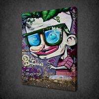 GRAFFITI FUNKY BOY STREET ART CANVAS WALL ART PRINT PICTURE READY TO HANG