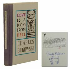 Love is a Dog from Hell ~ CHARLES BUKOWSKI Signed Limited First Edition 1977 1st