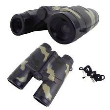4X 35mm Camouflage Children Gift Portable Plastic Binocular Telescope Toy GU