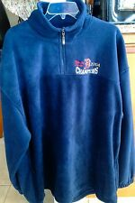 Boston Red Sox 2004 World Series Champions Navy Fleece Jacket Size XXLarge NWT