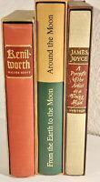 Vintage Heritage Press Lot Three Nice Books With Slipcase, Verns, Joyce, Scott