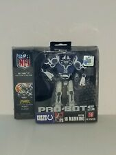 "PEYTON MANNING ( 6"") 2008 NFL PRO-BOTS (25 POINTS OF ARTICULATION) ACTION FIGURE"