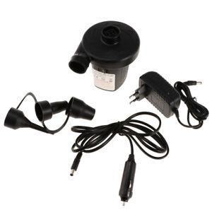 Portable Air Pump Electric Inflator Deflator Airbed Bed Mattress Pool Mini