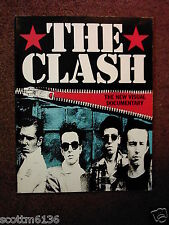 The CLASH: A New Visual Documentary- James Well '92 Revised Edition *V.Rare+OOP