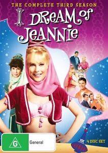 I Dream of Jeannie : Season 3 (DVD, 4-Disc Set) BRAND NEW SEALED 🔥🔥