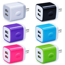 Dual Wall Charger For iPhone iPad Samsung Double Port USB Fast Power Adapter 6X